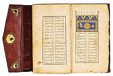 'ABD AL-RAHMAN JAMI (D.1492), DIWAN, SIGNED BY DARVISH 'ALI (KNOWN AS WAYSI), PERSIA, TIMURID, DATED 878 AH/1473 AD |