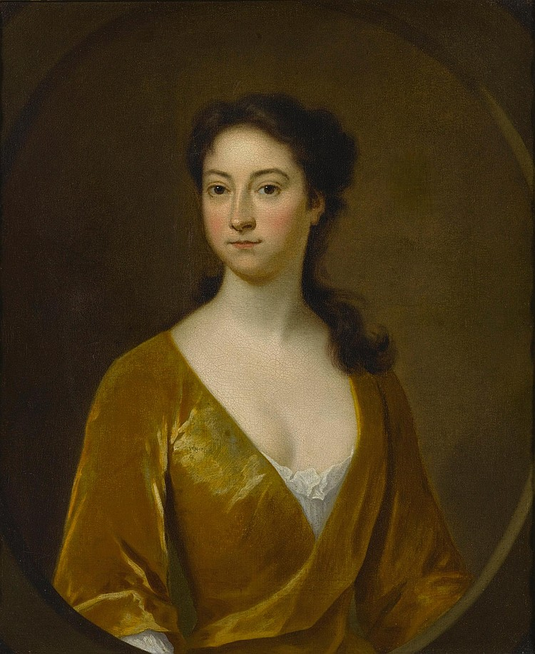 ATTRIBUTED TO CHARLES BRIDGES (1670 - 1747) | Portrait of a Woman