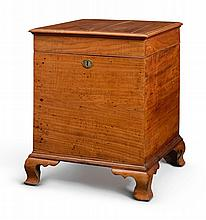 RARE CHIPPENDALE WALNUT SUGAR CHEST, PHILADELPHIA, CIRCA 1760 |