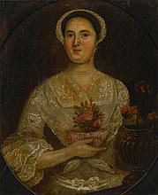 AMERICAN SCHOOL, 18TH CENTURY | Portrait of Susan Sleeper of Brookline, Massachusetts