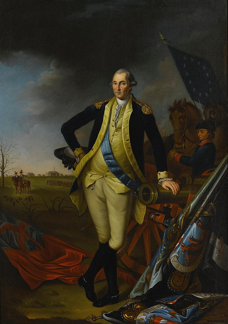 AFTER CHARLES WILLSON PEALE | George Washington after the Battle of Princeton
