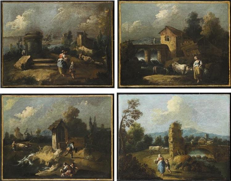 GIUSEPPE ZAIS FORNO DI CANALE 1709-1784 TREVISO