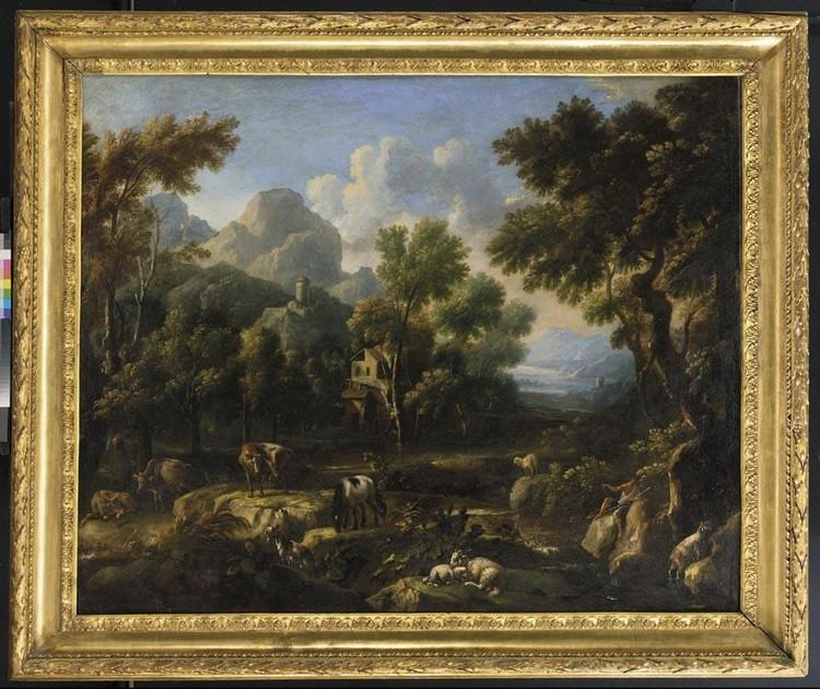 ATTRIBUITO A JOHANN MELCHIOR ROOS HEIDELBURG 1663 - 1731 BRAUNSCHWEIG(?)