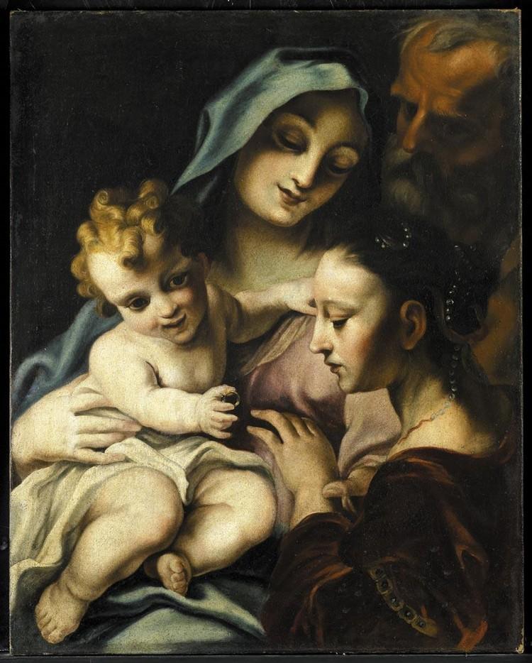 ATTRIBUITO A STEFANO MARIA LEGNANI, DETTO LEGNANINO MILANO 1661-1713