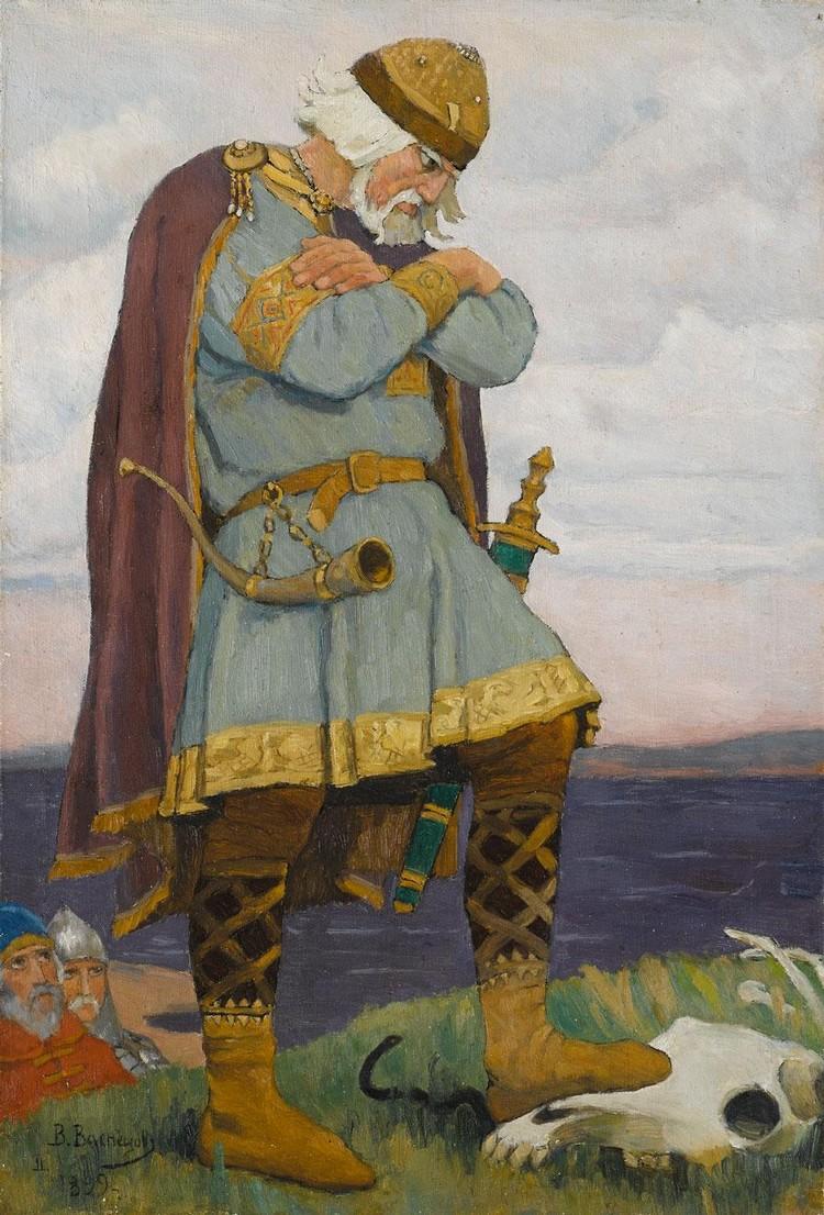 VICTOR MIKHAILOVICH VASNETSOV, 1848-1919