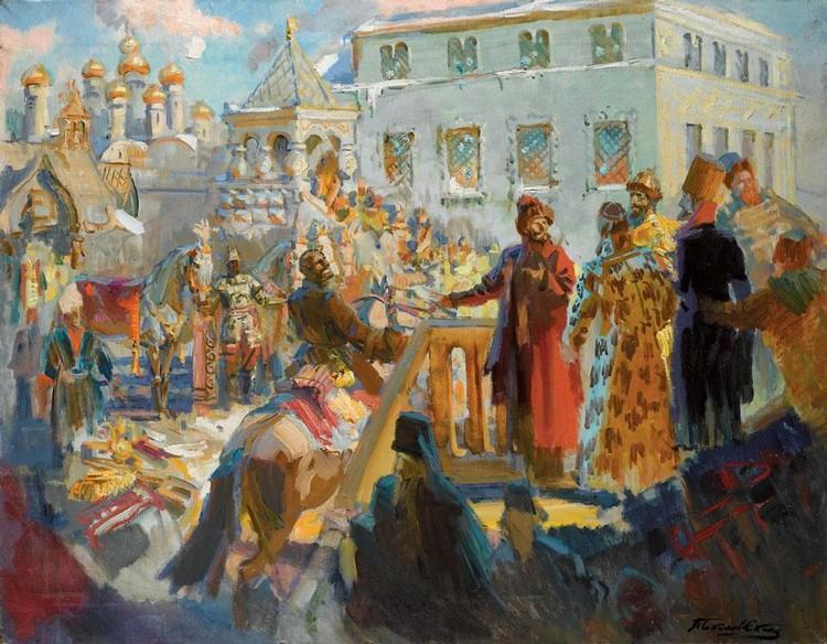 f - PAVEL PETROVICH SOKOLOV-SKALYA, 1879-1961