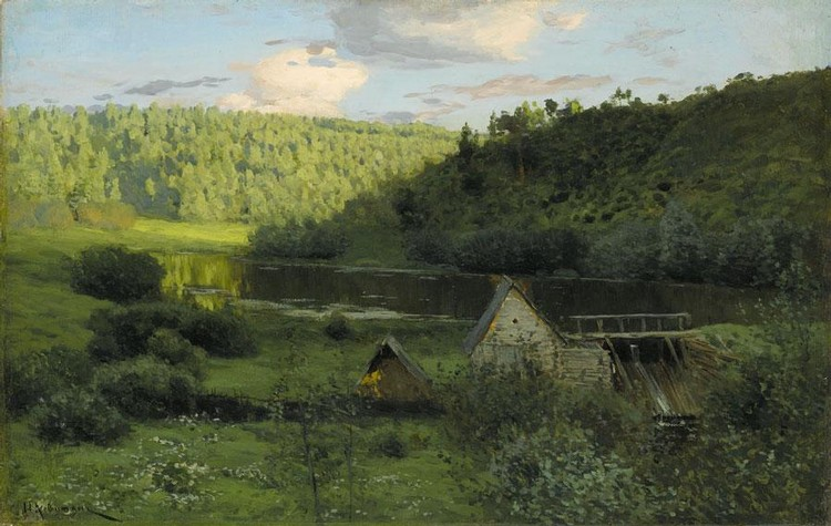 f - ISAAC ILICH LEVITAN, 1861-1900