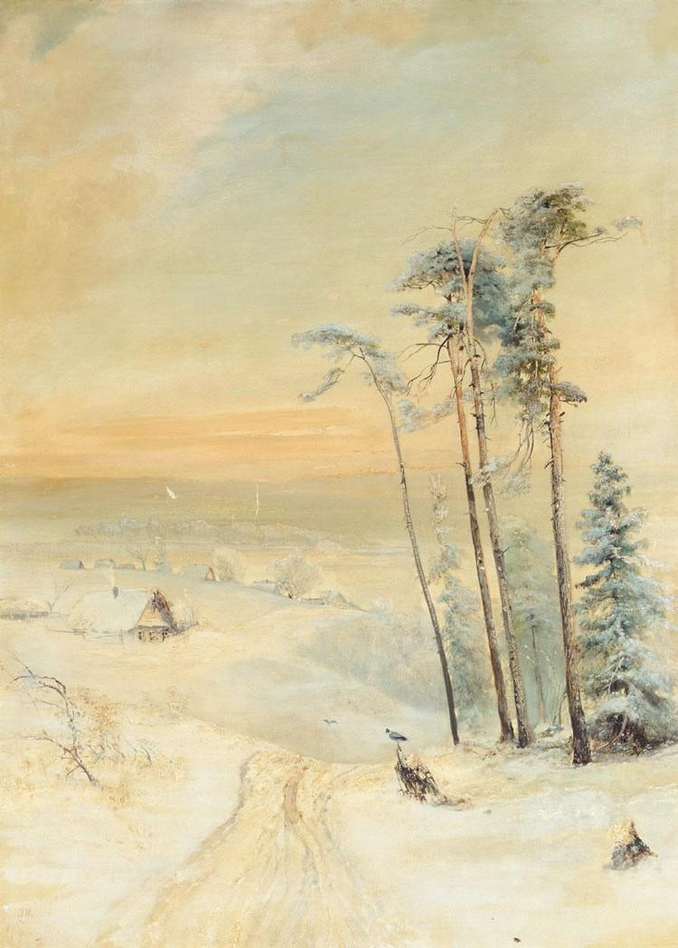 f - ALEXEI KONDRATEVICH SAVRASOV, 1830-1897