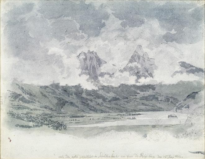 f - FRIEDRICH SALATHÉ BINNINGEN 1793 - 1860 PARIS