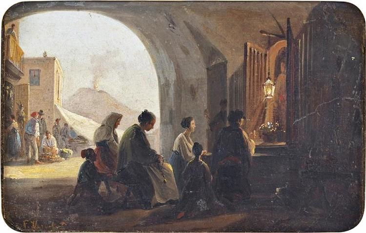 FRANS VERVLOET MALINES 1795 - VENISE 1872
