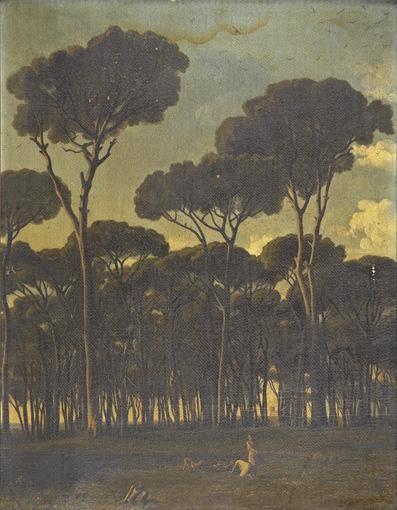 PAUL JEAN FLANDRIN LYON 1811- PARIS 1902