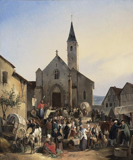 VICTOR-JEAN ADAM PARIS 1801 - VIROFLAY 1866