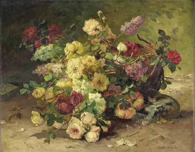 EUGÈNE- HENRI CAUCHOIS ROUEN 1850 - PARIS 1911