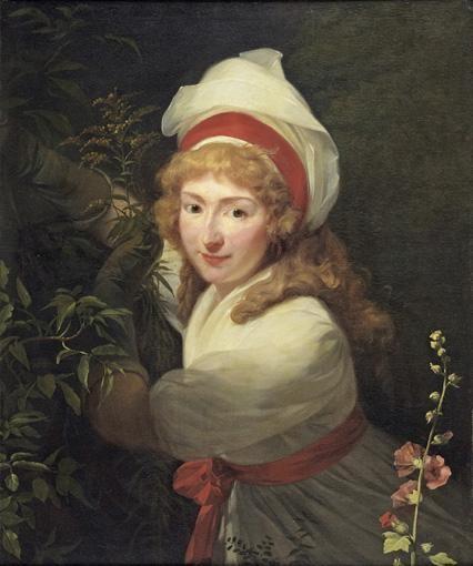 f - HENRI-PIERRE DANLOUX PARIS 1753 - 1809