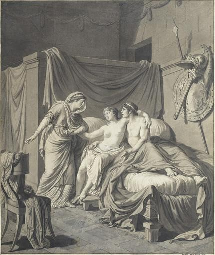 f - LOUIS-SIMON BOIZOT PARIS 1743 - 1809