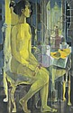Vicente Silva Manansala 1910-1981 , Nude oil on canvas   , Vicente Silva Manansala, Click for value