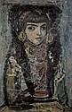 Fernando Zobel 1924-1984 , La Sevillana oil on upson board   , Fernando Zobel, Click for value