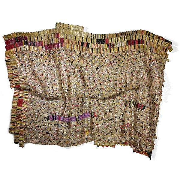 El Anatsui , b. 1944 Healer aluminium and copper wire