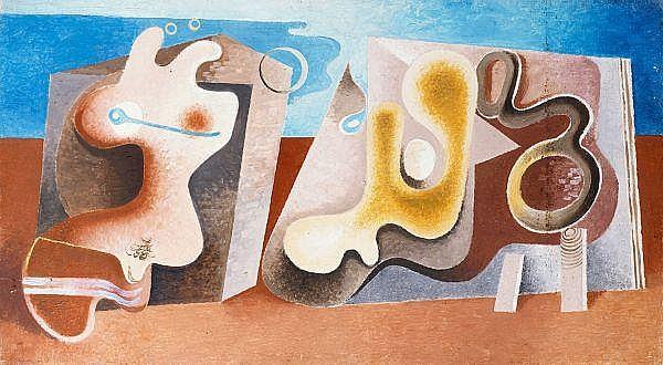 Otto Tschumi 1904-1985   Öl auf Holz