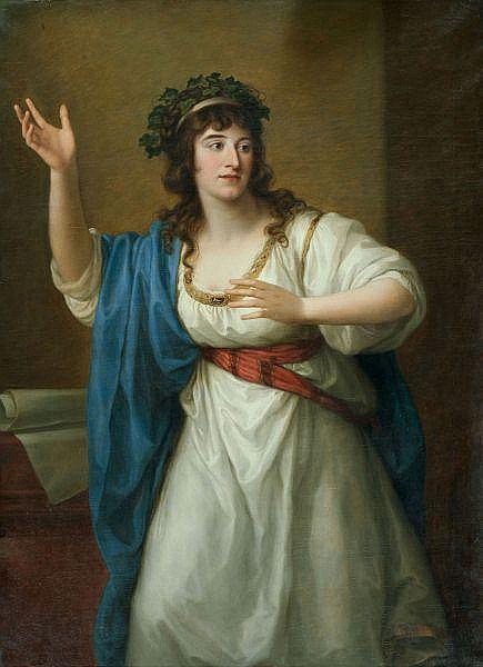 Angelika Kauffmann 1741-1807 Öl auf Leinwand