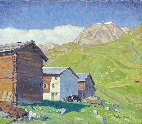 Martha Cunz 1876-1961 Öl auf Leinwand