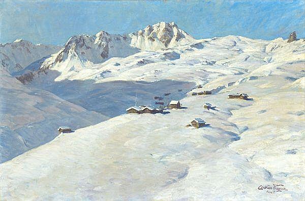 Cornelius Wagner 1870-1956 Öl auf Leinwand