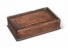 WALNUT SLIDING-LID BOX, PENNSYLVANIA, 18TH CENTURY |