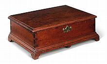 RARE CHIPPENDALE WALNUT DOCUMENT BOX, CHESTER COUNTY, PENNSYLVANIA, DATED 1773 |