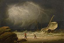 ROBERT SALMON (1775 - C. 1845) | Stormy Seas