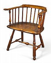 WINDSOR LOW-BACK ARMCHAIR, PHILADELPHIA, CIRCA 1770 |