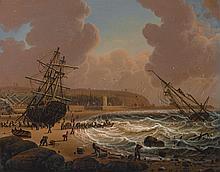 ROBERT SALMON (1775 - C. 1845) | A Storm Off the Coast