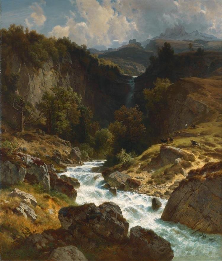 JOHANN GOTTFRIED STEFFAN 1815-1905