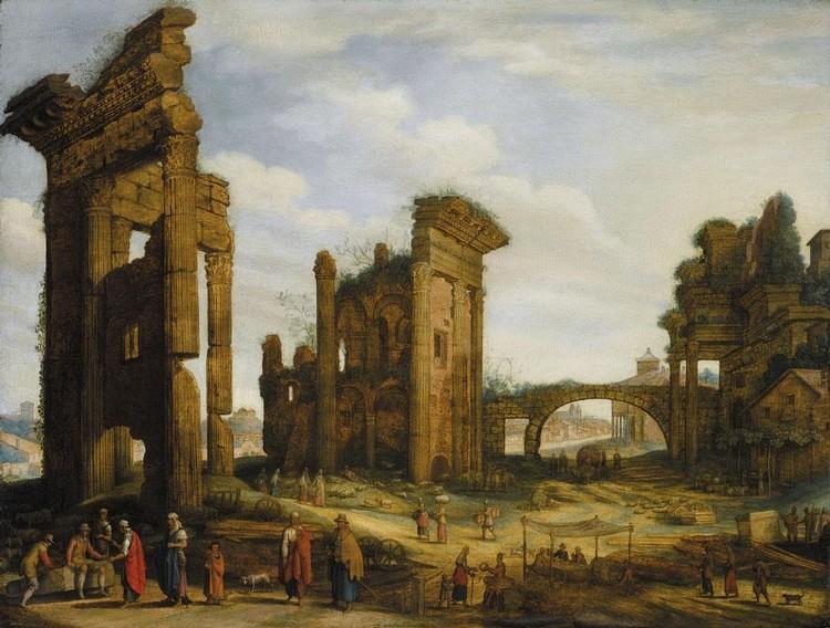 f - WILLEM VAN NIEULANDT THE YOUNGER ANTWERP 1584 - 1635 (?) AMSTERDAM