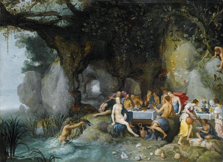 ADRIAEN VAN STALBEMT ANTWERP 1580 - 1662