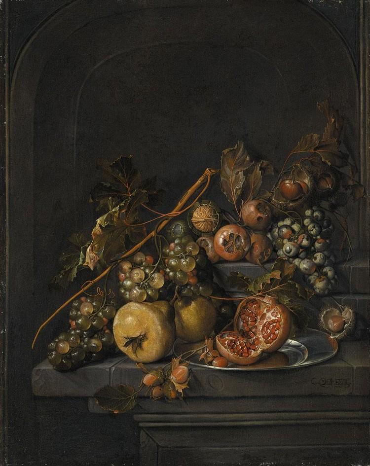 CORNELIS JANSZ. DE HEEM LEIDEN BAPT 1631 - 1695 ANTWERP