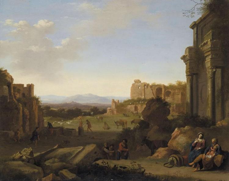 CORNELIS VAN POELENBURGH UTRECHT CIRCA 1593 - 1676