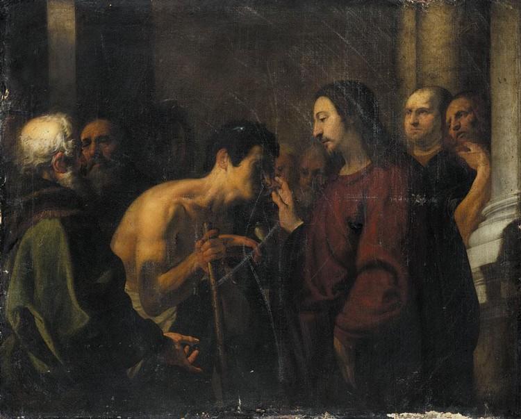 ORAZIO DE' FERRARI VOLTRI BAPT 1606 - 1657 GENOA