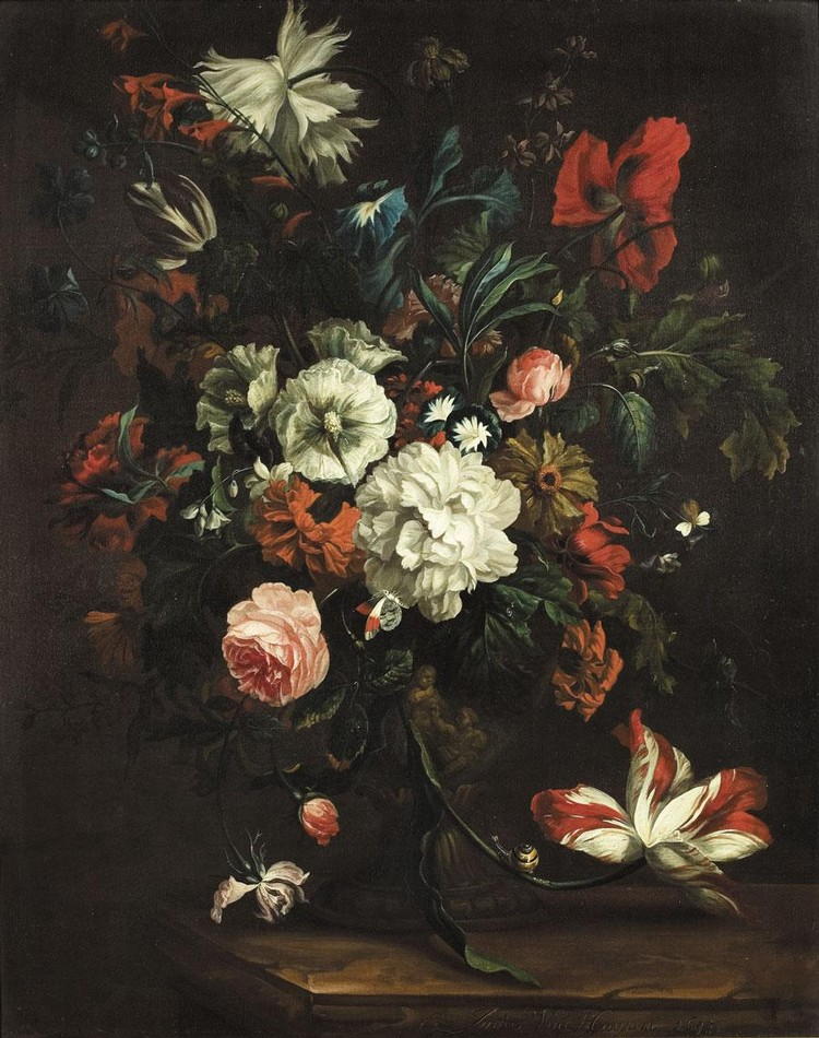 JUSTUS VAN HUYSUM I AMSTERDAM 1659 - 1716