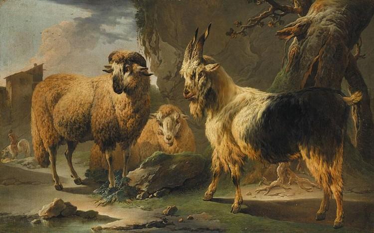 PHILIPP PETER ROOS, CALLED ROSA DA TIVOLI FRANKFURT 1657 - 1706 ROME
