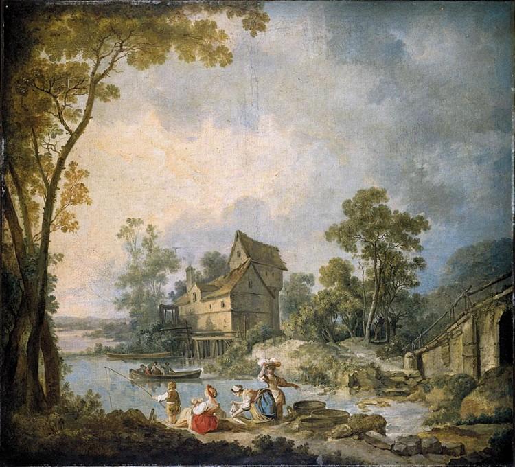 JEAN-BAPTISTE LEPRINCE METZ 1734-1781 SAINT-DENIS-DU-PORT