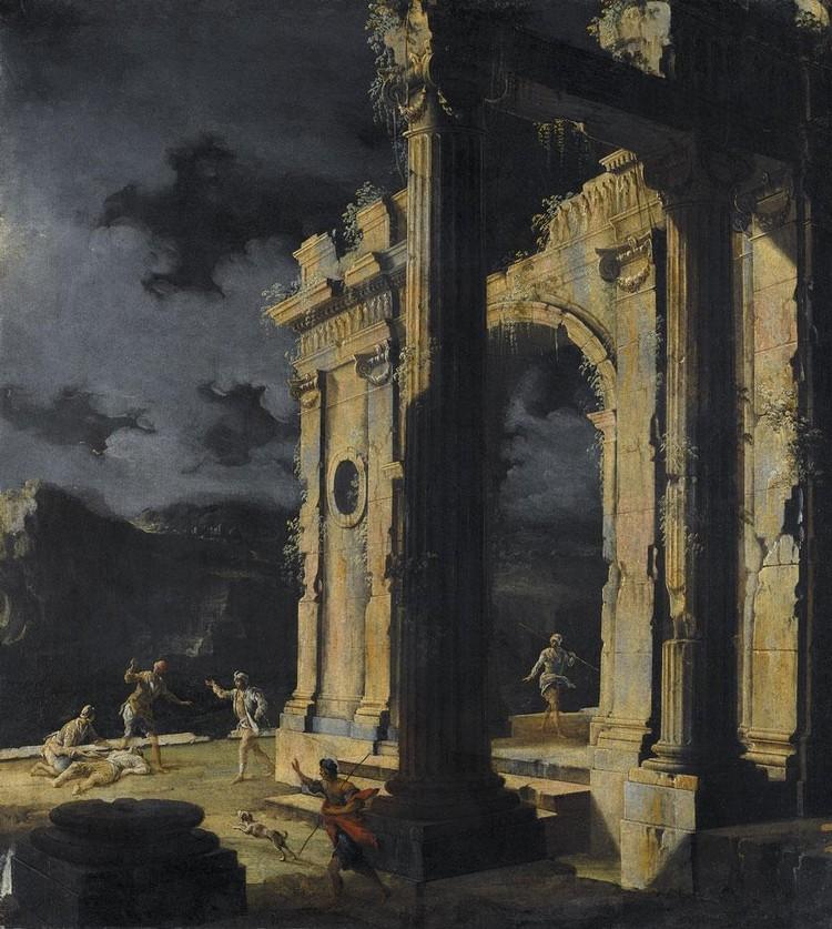 LEONARDO COCCORANTE NAPLES 1680-1750