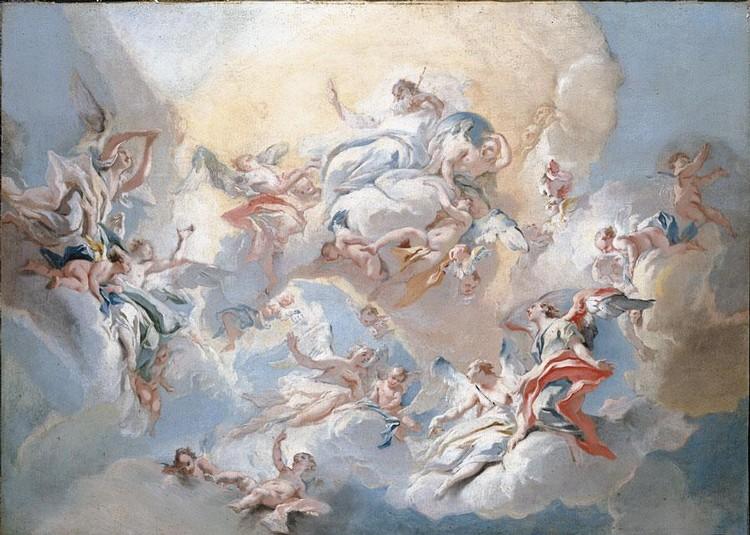 CARLO INNOCENZO CARLONE SCARIA 1686 - 1775 COMO