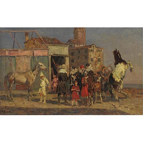 Beppe Ciardi (Venezia 1875 - Quinto di Treviso 1932) , circo equestre