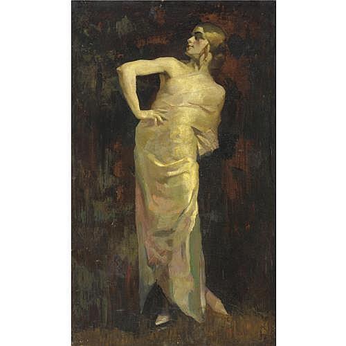 m - Giuseppe Amisani (Mede Lomellina 1879 - Portofino 1941) , la modella