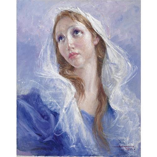 m - Clemente Tafuri (Salerno 1903 - Pegli 1971) , maria