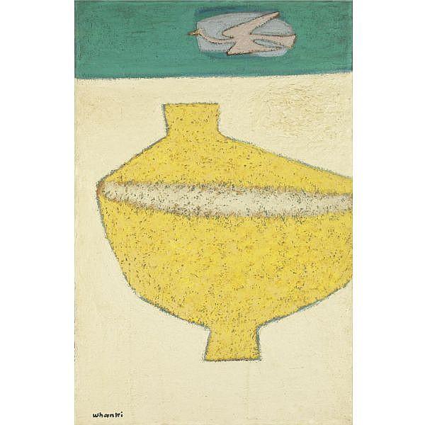 Kim Whanki , Pot oil on canvas