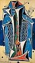 f - Francis Picabia , 1879-1953 ERGO huile sur toile, Francis Picabia, Click for value
