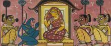 JAMINI ROY | Untitled (Sita in Upvan)