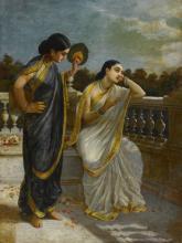 RAJA RAVI VARMA | Untitled (Damayanti)