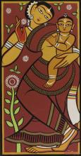 JAMINI ROY | Untitled (Mother and Child)